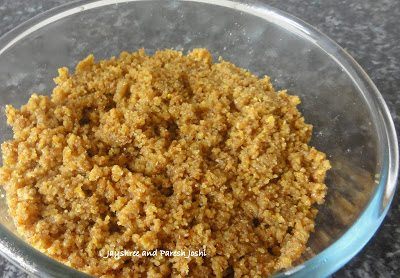 Traditional Gujarati Lapsi (Indian dessert)