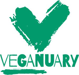 Veganuary logo dark green