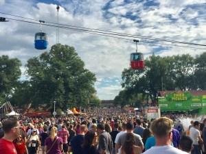 Minnesota State Fair crowd