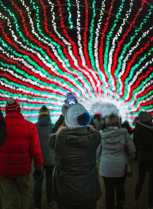 Sam's Christmas Village & Light Tour