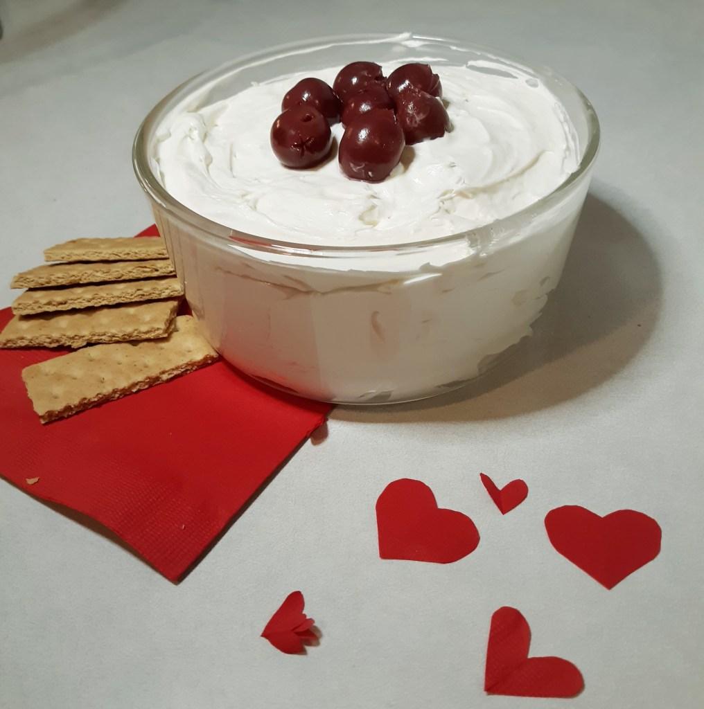 No-bake cheesecake dip