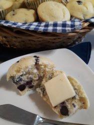 blueberry lemon muffin scaled Blueberry Lemon Muffins