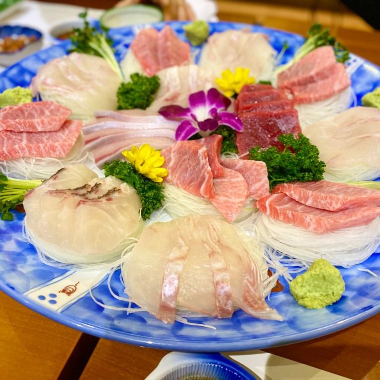 Assorted Sashimi (3.5)