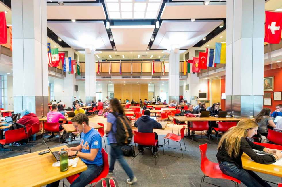 student union at Rensselaer