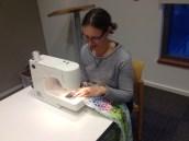 Sewing Away!