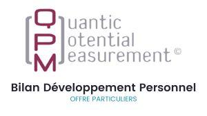 Bilan QPM Développement Personnel pour les particuliers