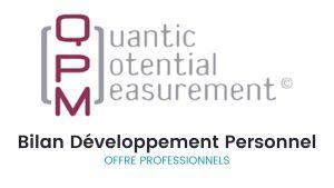 Bilan QPM Développement Personnel pour les professionnels