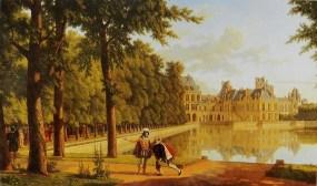 Генрих IV и Сюлли в Фонтенбло. М. дю Переус