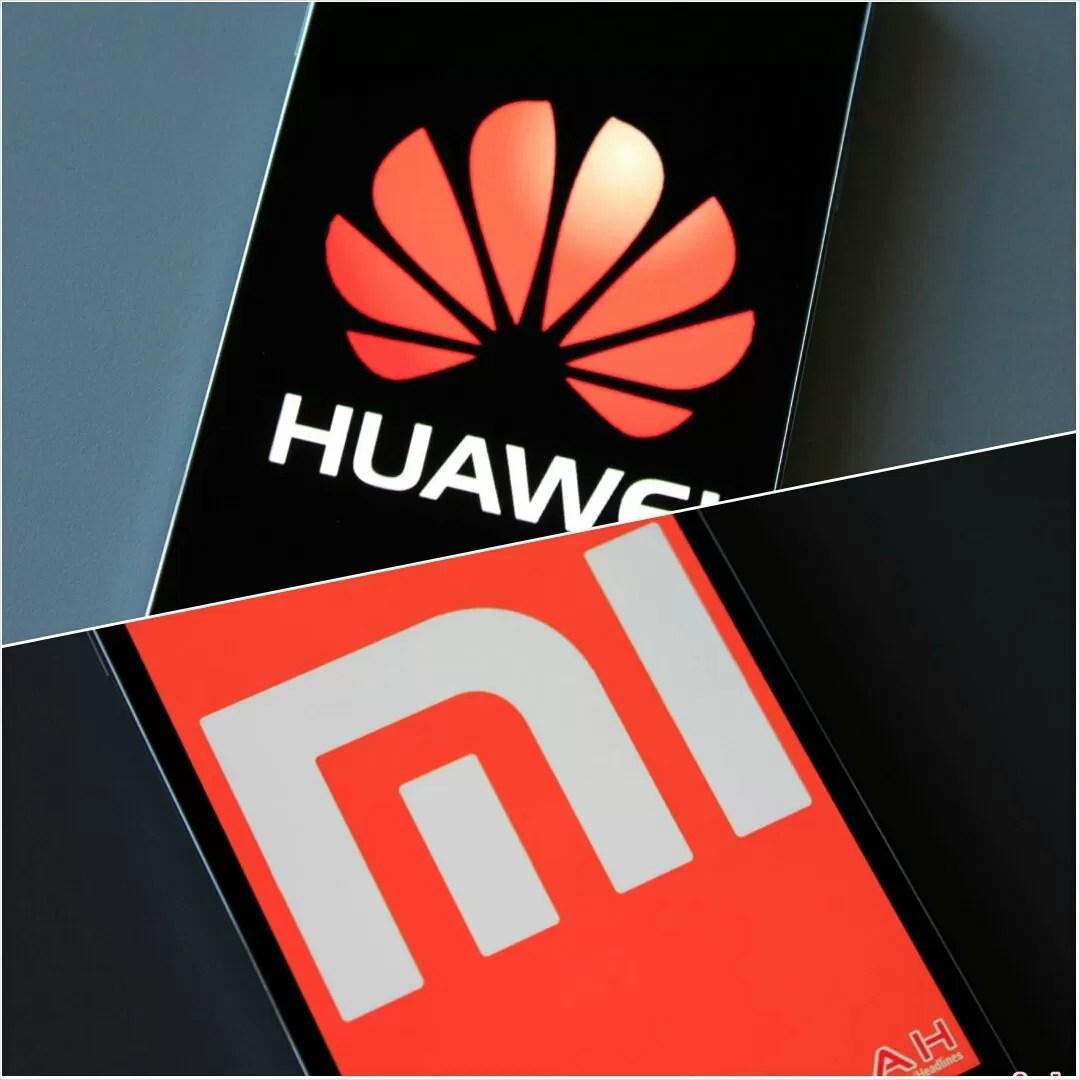 Huawei xiaomi logo