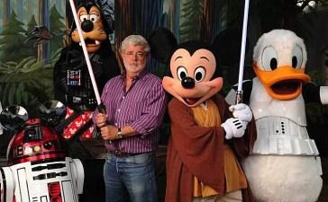 George Lucas, Disney e Star Wars