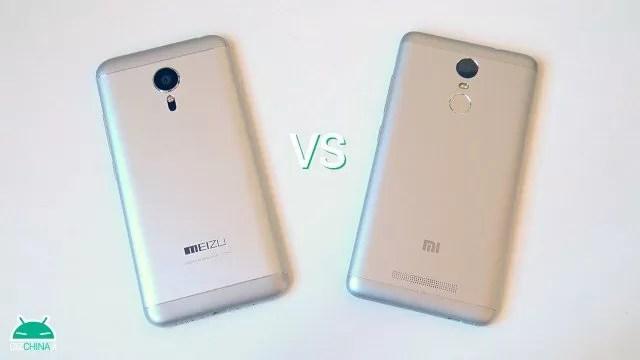 Meizu MX5 vs Xiaomi Redmi Note 3