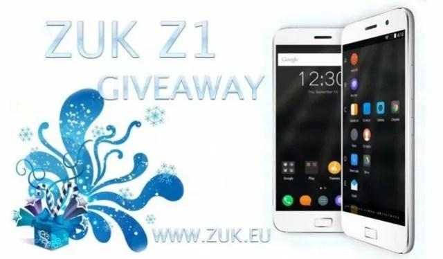 Zuk z1 giveaway