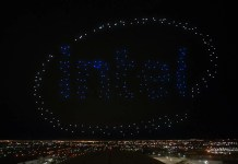 Intel Drone Shooting Star Super Bowl
