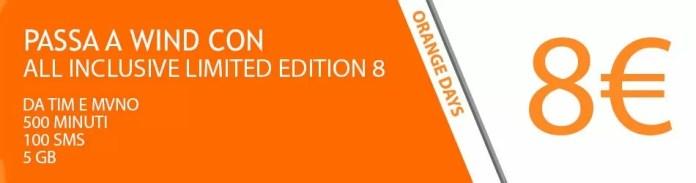 Wind All Inclusive Special Edition 8 TIM MVNO