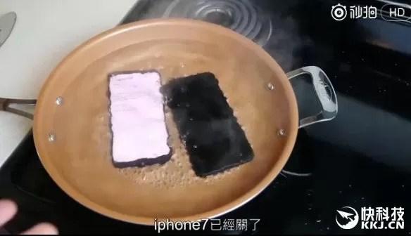 samsung galaxy s8+ iphone 7 plus video acqua