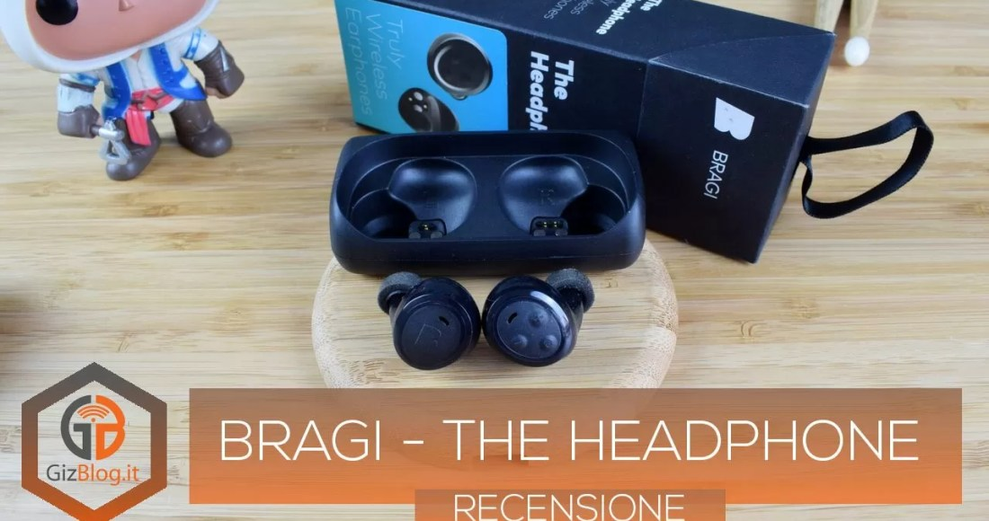 Bragi - The Headphone - Recensione GizBlog