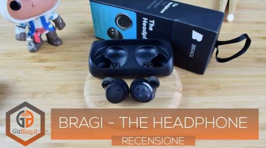 Bragi - The Headphone - Recensione GizBlog