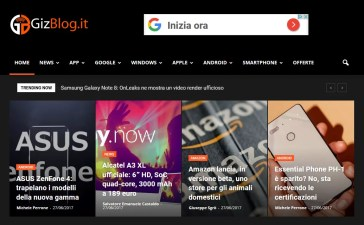 GizBlog.it si aggiorna 3