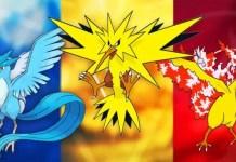 Pokémon GO Moltres Zapdos Articuno