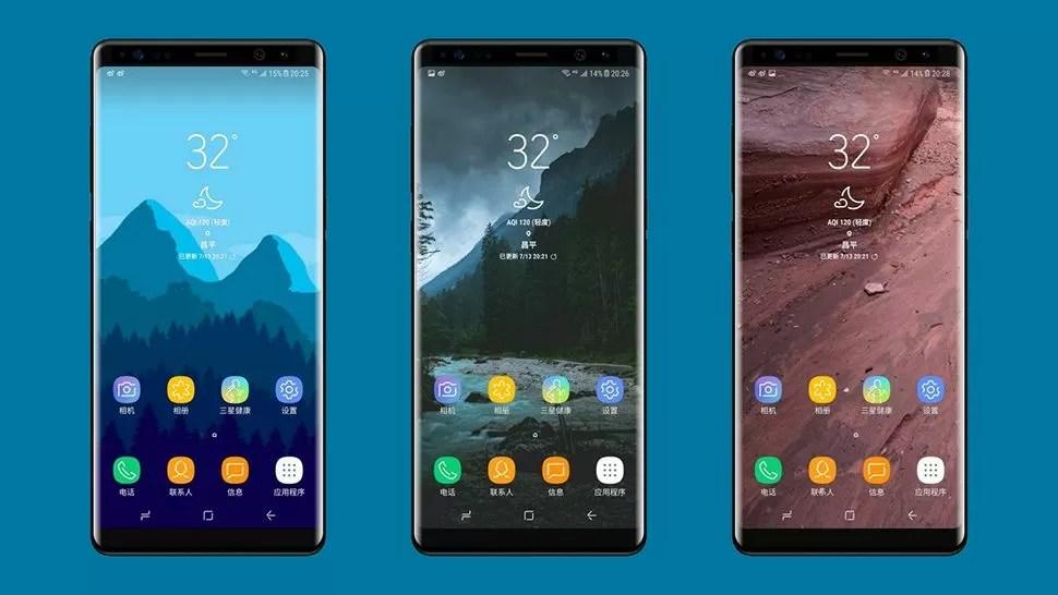 Samsung Galaxy Note 8 immagini render