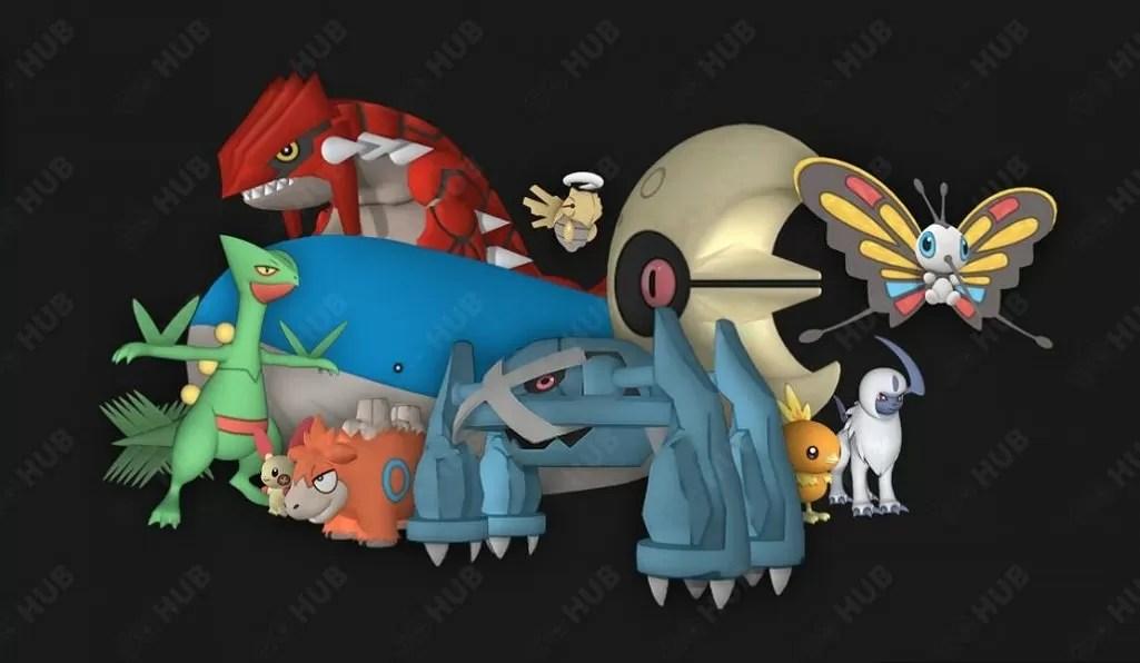 I Pokémon di terza generazione appaiono nel codice di Pokémon GO
