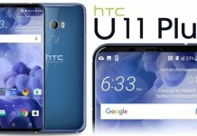 HTC U11 Plus immagini smartphone borderless