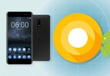 Nokia 8 Android 8.0 Oreo aggiornamento