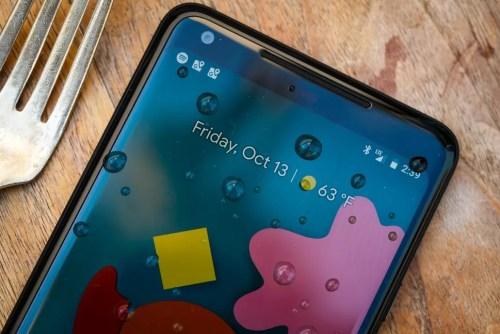 google pixel 2 xl display