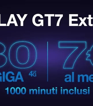 Offerta 3 Italia Play GT7 Extra