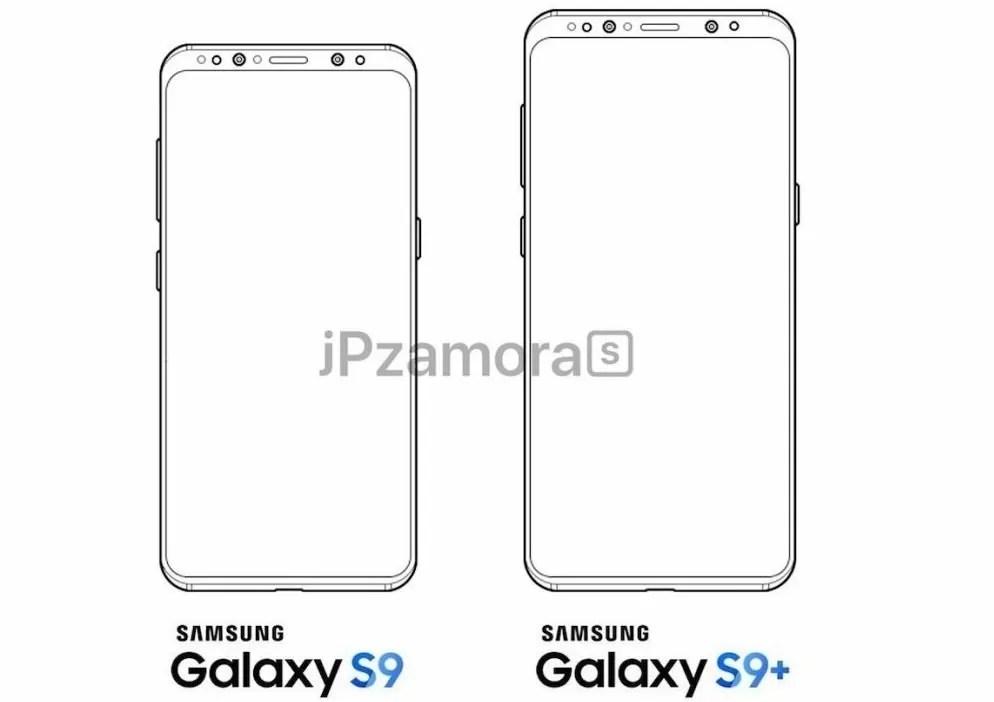 Samsung Galaxy S9 ed S9+: trapelano render e scheda