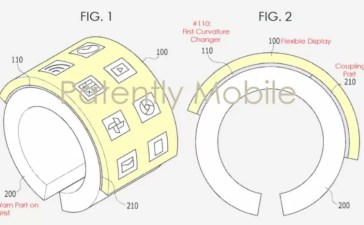 samsung wearable flessibile