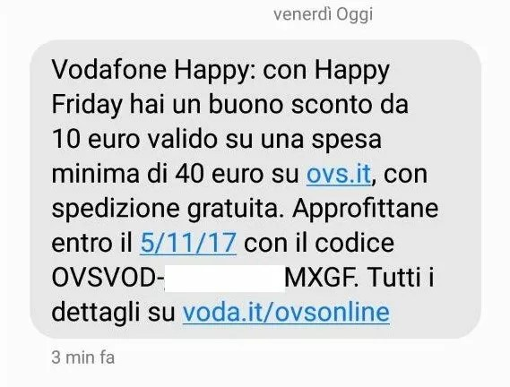 Vodafone Happy Friday torna con un nuovo regalo