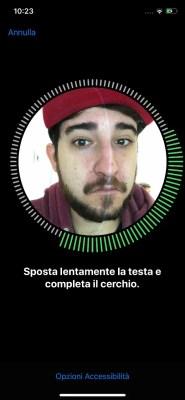 apple iphone x face id