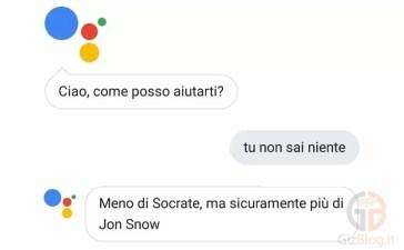 Google Assistant risposte più divertenti