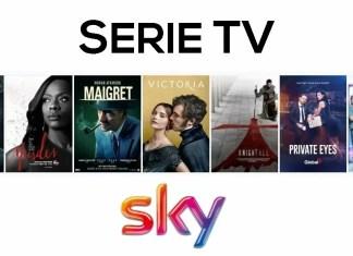 Sky Italia serie TV dicembre 2017