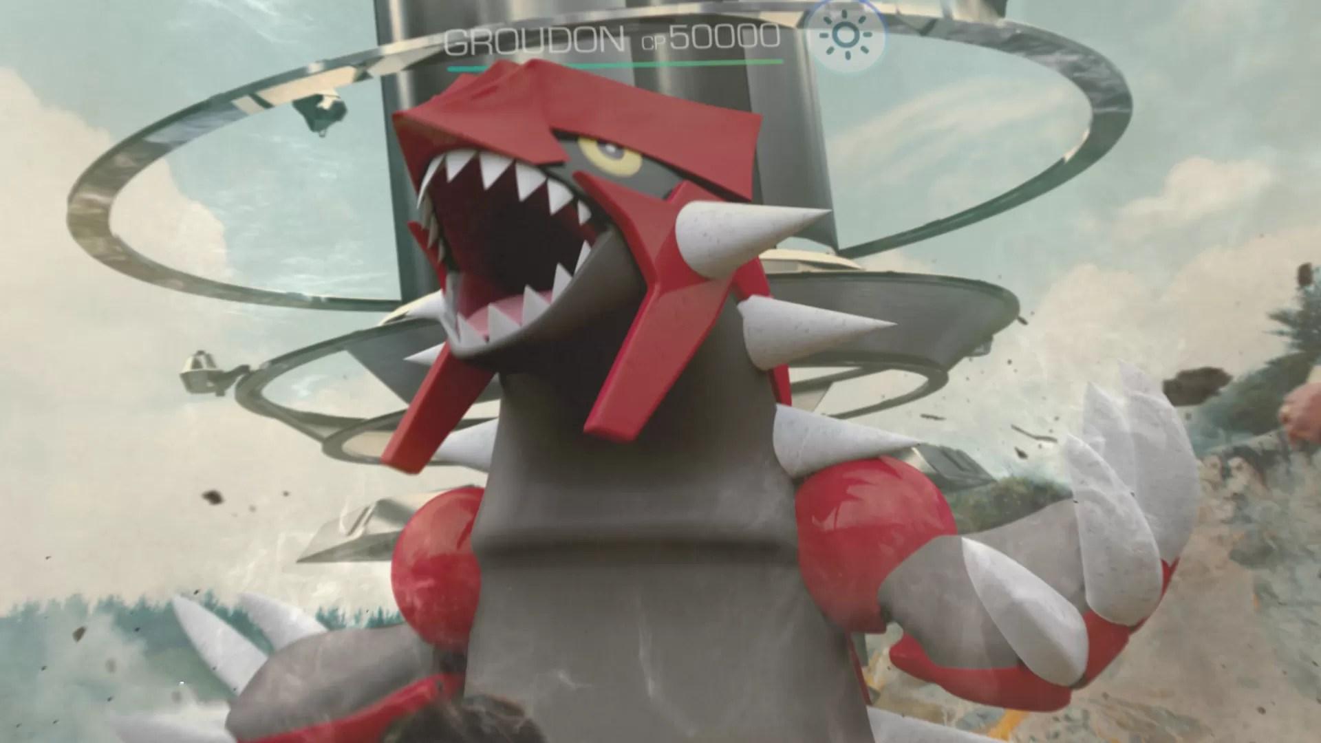 Groudon è arrivato in Pokémon GO: potrete catturarlo fino al 15 gennaio