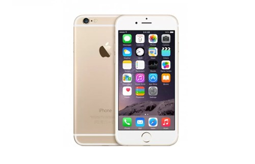 apple iphone 6 gold banner