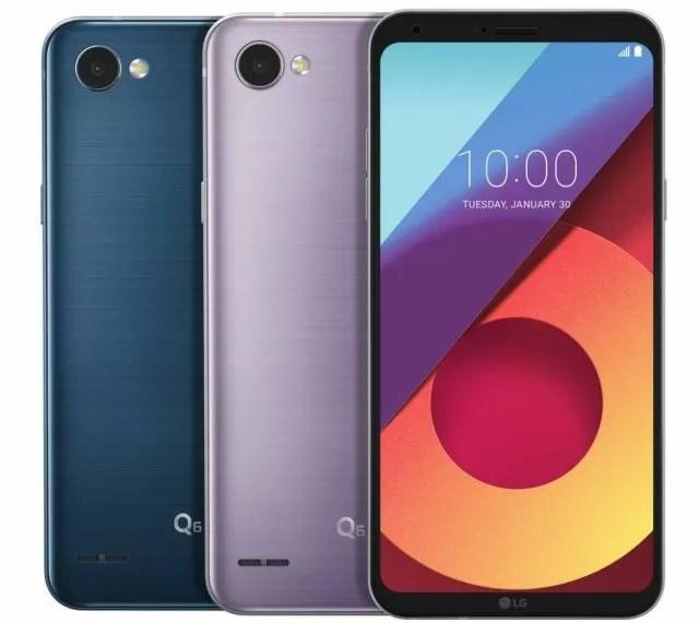 LG G6 e LG Q6 saranno disponibili in nuove colorazioni