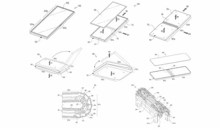 Samsung Galaxy X: depositati gli ennesimi brevetti