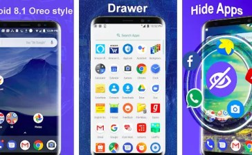 Launcher Oreo 8.1 launcher stile Android Oreo stock