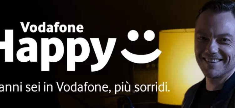 vodafone happy 30GB in regalo