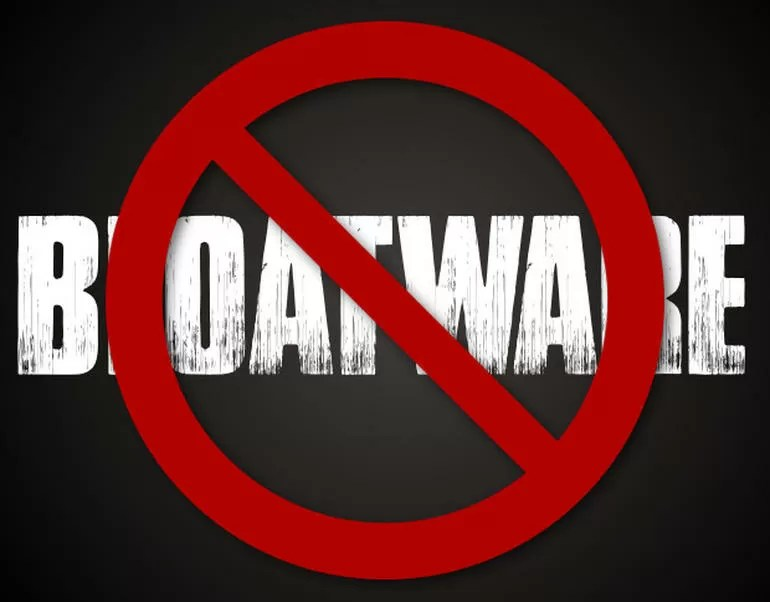 eliminare bloatware senza root