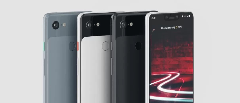 google pixel 3 xl design notch