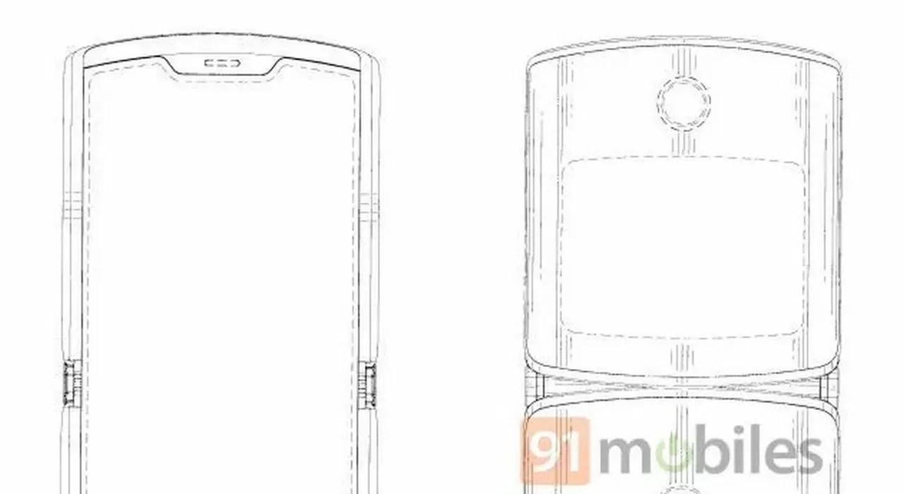 Motorola RAZR 2019: un brevetto svela il design del nuovo