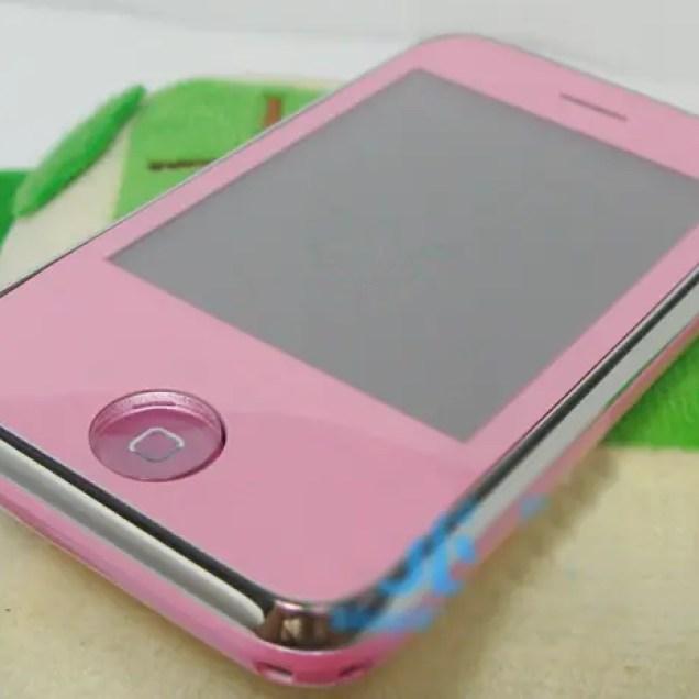 pink iPhone Nano Wannabe
