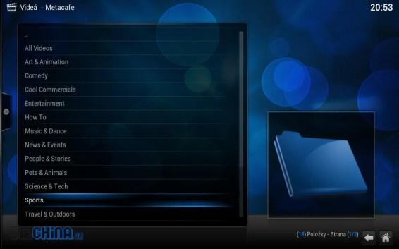 Každý doplnok má iné funkcie a možnosti, tento ponúka rôzne videá a klipy