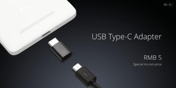 Xiaomi MI 4c usb C 2