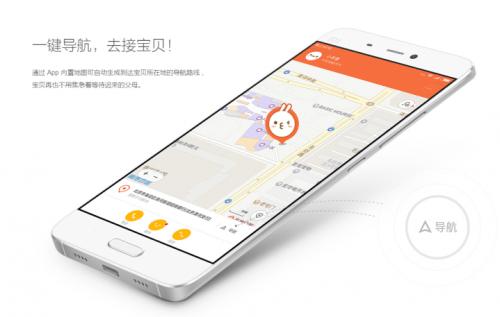 Xiaomi Mi Bunny map app