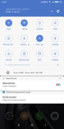 MIUI ve verzi 9.5