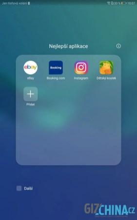 Předinstalované aplikace od Huawei